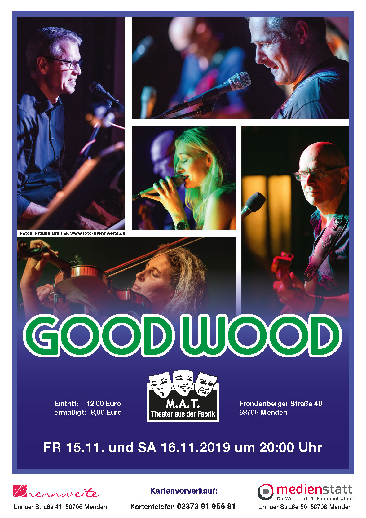 Good Wood  live im M.A.T.