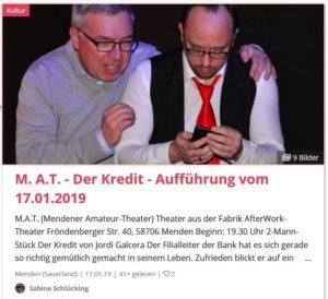 """Lokalkompass_ """"Der Kredit"""""""