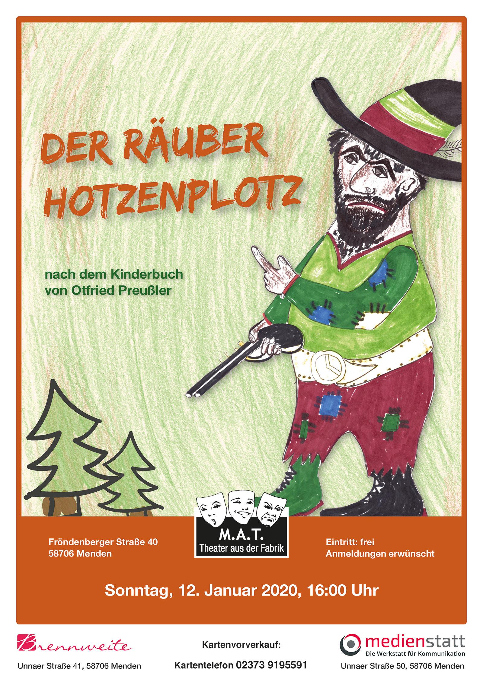 Märchen - Der Räuber Hotzenplotz   - ein Theaterstück nach dem Buch von Ottfried Preußler