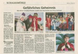 Schalksmühle Prinz Achmed 03.02.2019